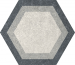 Codicer Traffic Combi Grey Mix Hexagonal 25x22 płytka gresowa