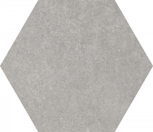 Codicer Traffic Grey Hexagonal 25x22 gres matowy
