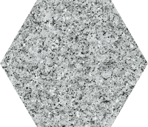 Codicer Hex Granite Grey Hexagonal 25x22 gres matowy