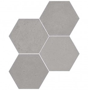 WOW Concrete Hexagon Ash Grey 20x23 płytka heksagonalna