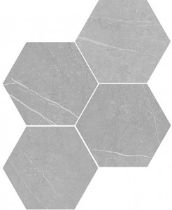 WOW Petra Hexagon Grey 20x23 płytka heksagonalna