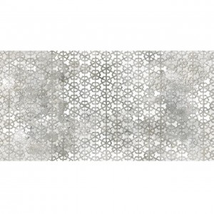 ITT Pompeia Grey Decor Matt 75x150 płytka gresowa patchwork