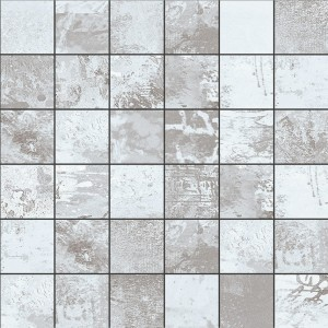 Aparici Expressions Grey High Honed Mosaico 29,75x29,75 mozaika ozdobna