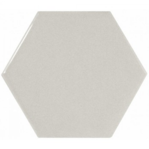 Equipe Scale Hexagon Light Grey 12,4x10,7 płytka ścienna
