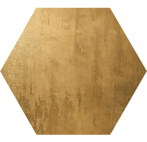 Aparici Omega Gold Hexagon 51,57x59,55