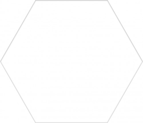 Codicer Solid White Hex 25x22