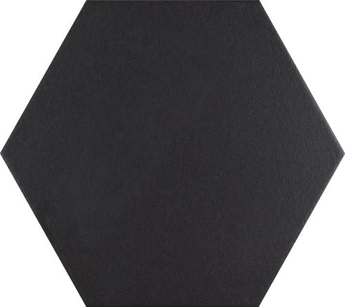 Textil Black Hex 25x22