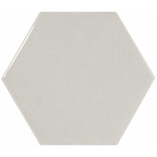 Scale Hexagon Light Grey 12,4x10,7