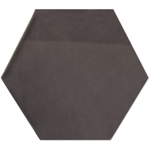 Hexagono Grafito Brillo 17x15