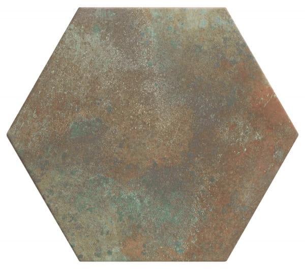 Realonda Donegal Forest 28,5x33 płytka heksagonalna metalizowana