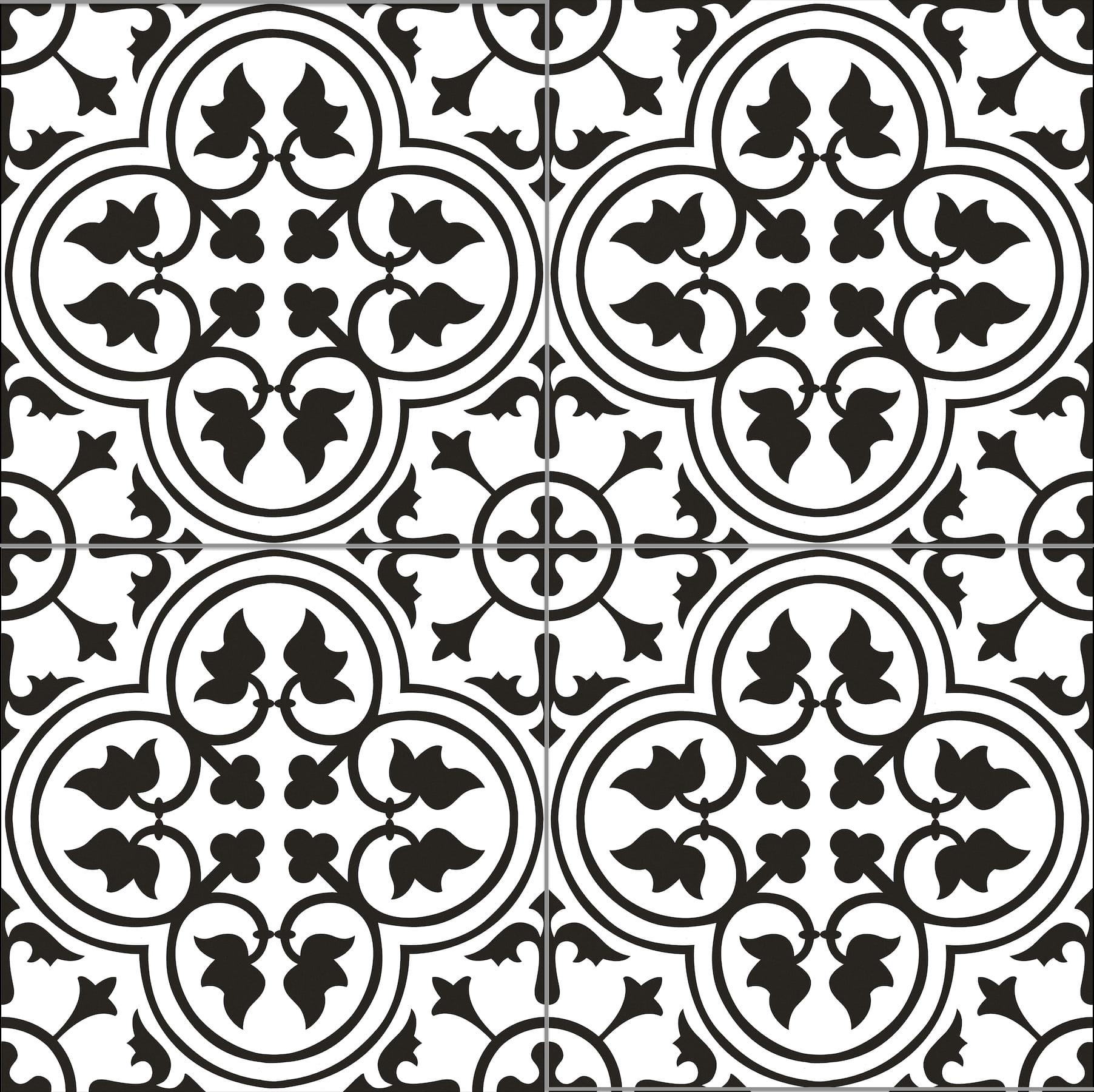 Goetan Hampton Black 45x45 płytka gresowa patchwork