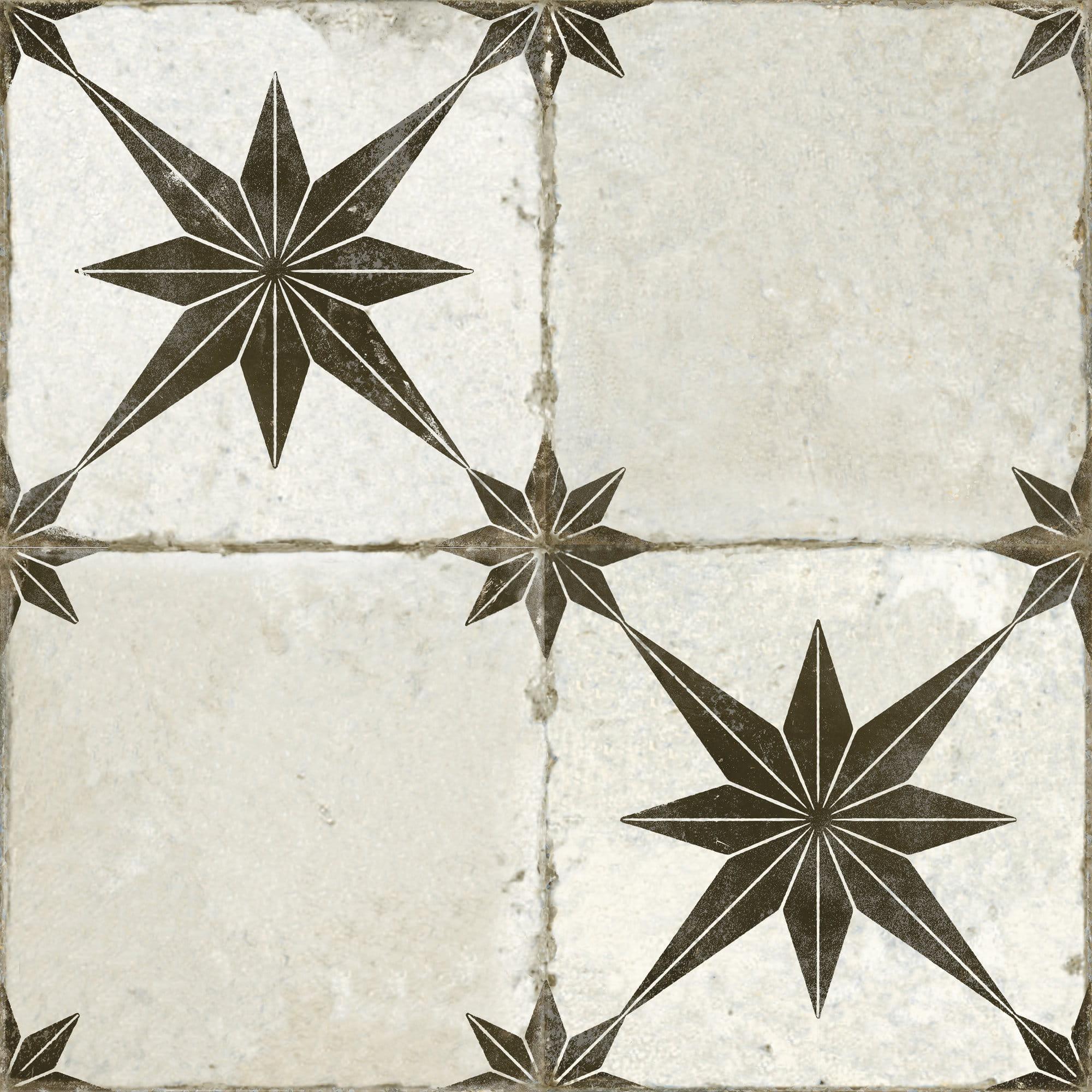 Peronda FS Star Ara Black 45x45 płytka podłogowa patchwork